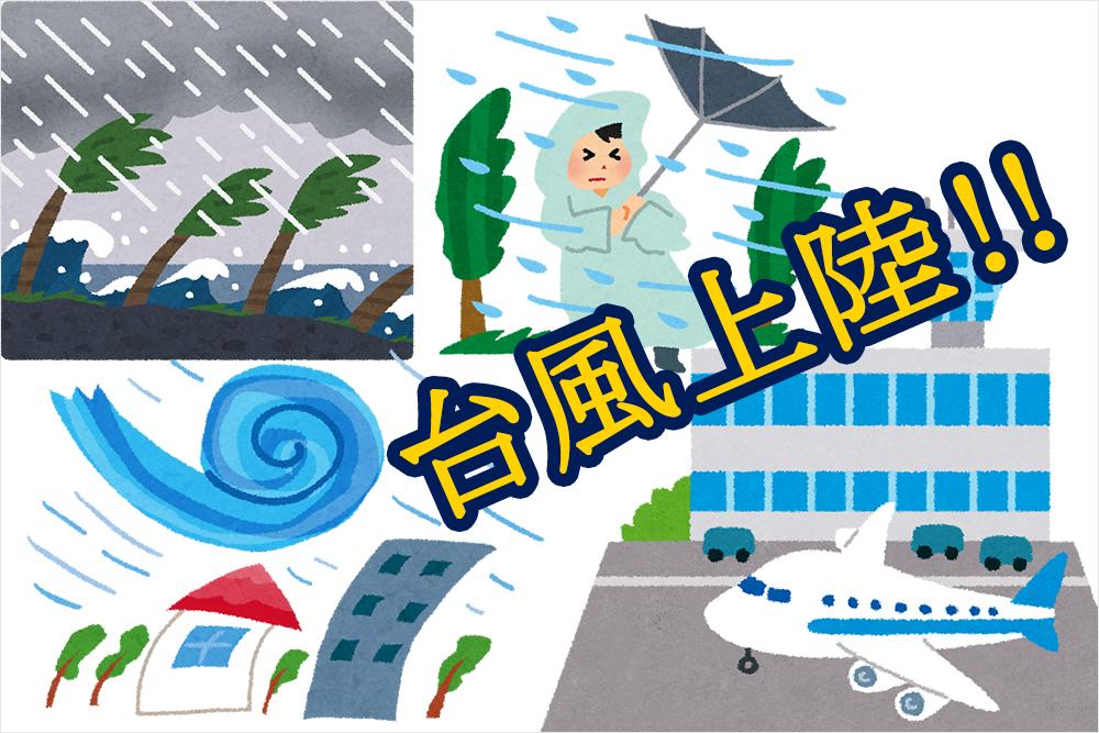 沖縄に台風が上陸すると那覇空港が満員電車並みに大混雑を巻き起こす|沖縄在住フリーライター miya-nee(みやねえ)のプロフィール