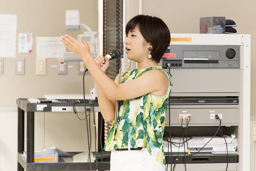 黒島ゆりえ|学生向けトークイベント「沖縄からWebで発信しよう」@沖縄国際大学|みやねえ講座のイベント企画・第二弾!