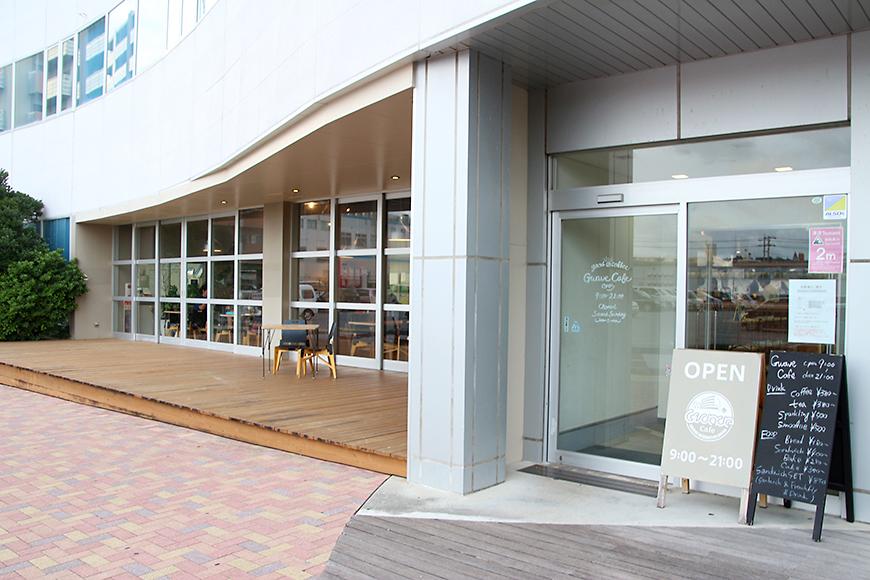 Gwave Cafe(ジーウェーブカフェ)の外観
