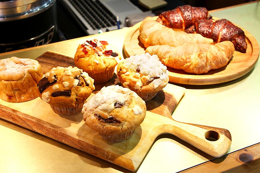 Gwave Cafe(ジーウェーブカフェ)の自家製焼き菓子