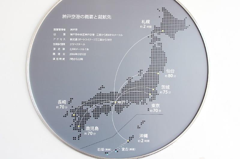 神戸空港の就航便