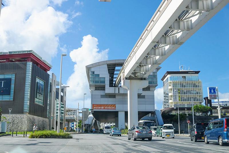 沖縄都市モノレール「ゆいレール」おもろまち駅