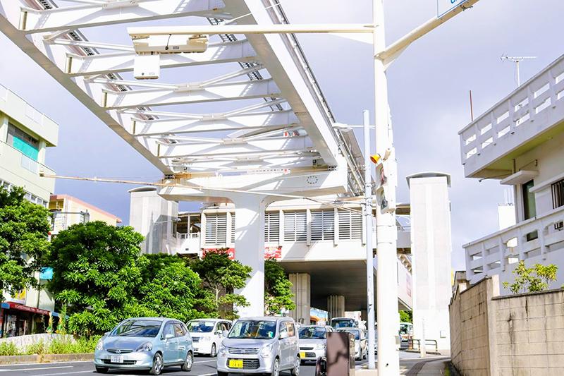 沖縄都市モノレール「ゆいレール」儀保駅