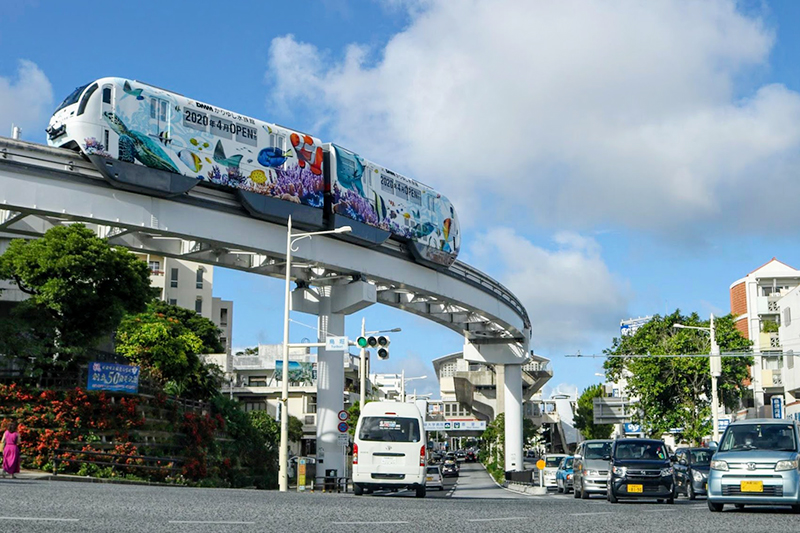 沖縄都市モノレール「ゆいレール」首里駅