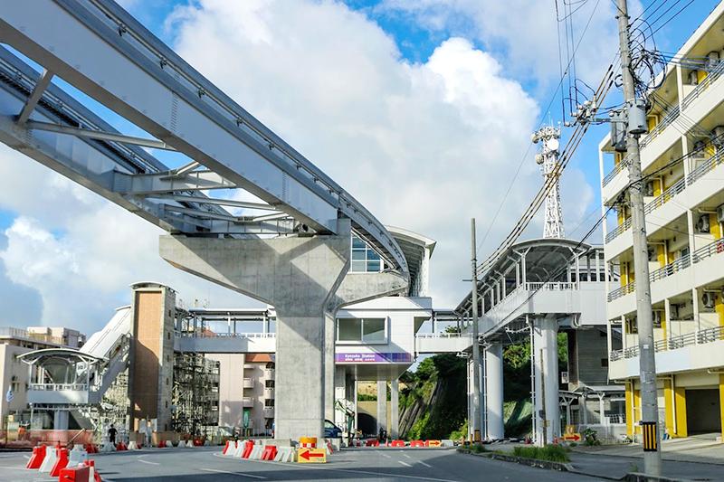 沖縄都市モノレール「ゆいレール」経塚駅