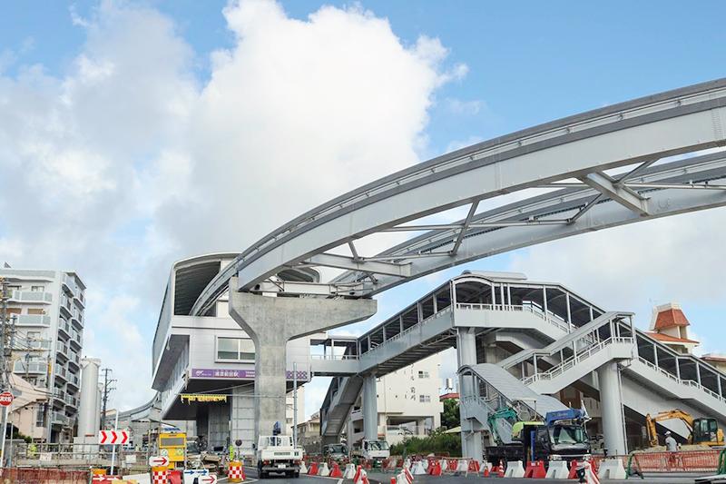 沖縄都市モノレール「ゆいレール」浦添前田駅