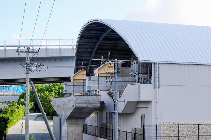 沖縄都市モノレール「ゆいレール」てだこ浦西