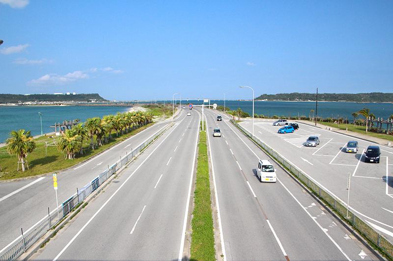 沖縄県うるま市の暮らし 海中道路