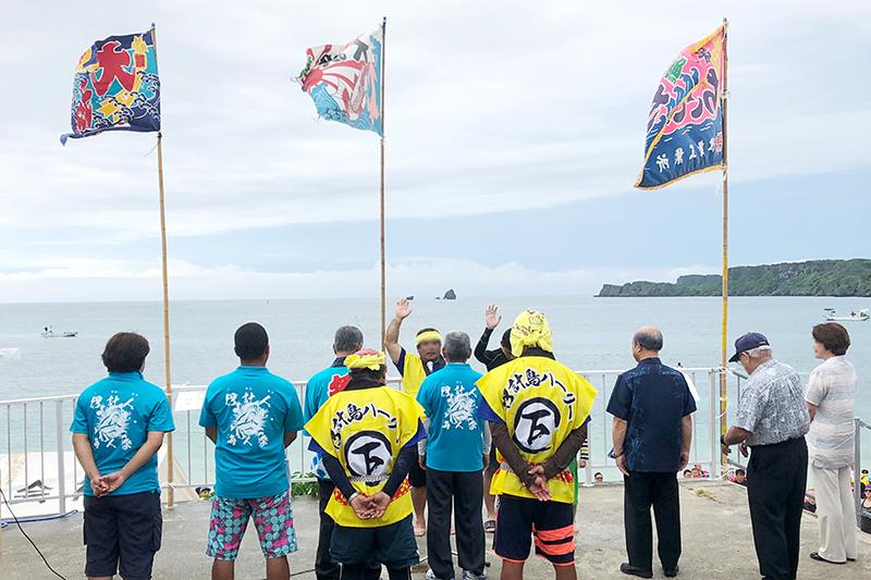 沖縄県うるま市の暮らし 伊計島ハーリー大会