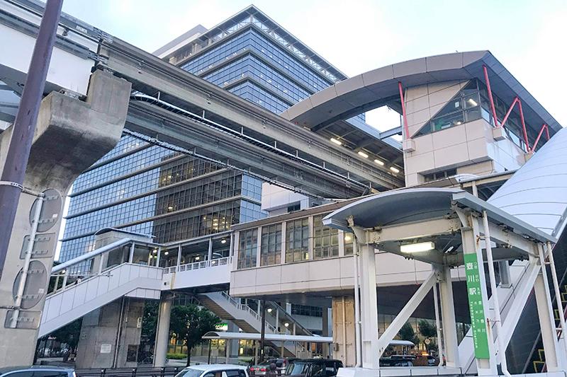 沖縄都市モノレール「ゆいレール」壺川駅