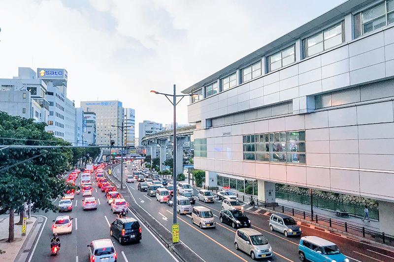 沖縄都市モノレール「ゆいレール」旭橋駅