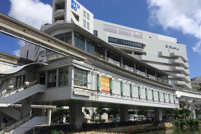 沖縄都市モノレール「ゆいレール」県庁前駅