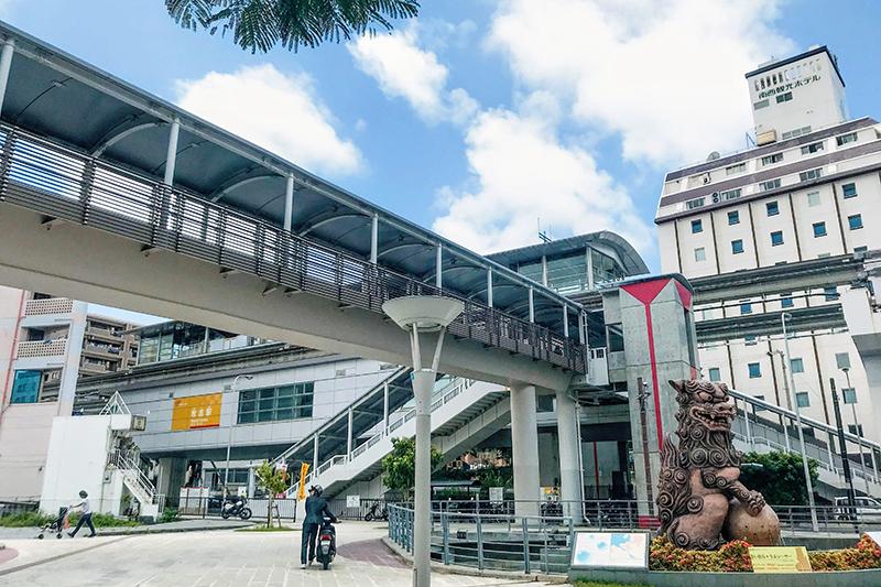 沖縄都市モノレール「ゆいレール」牧志駅