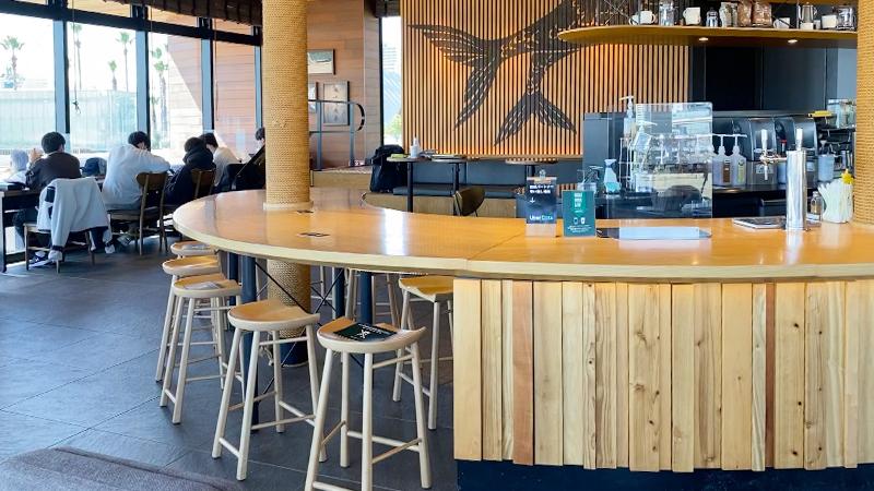 スターバックス コーヒー 神戸メリケンパーク店 神戸市の電源カフェ