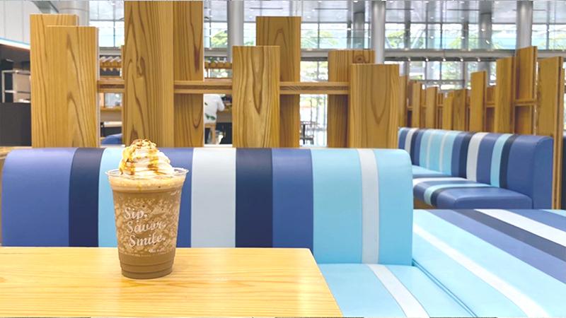 エスプレッソ・アメリカーノ テレコムセンター店 東京の電源カフェ