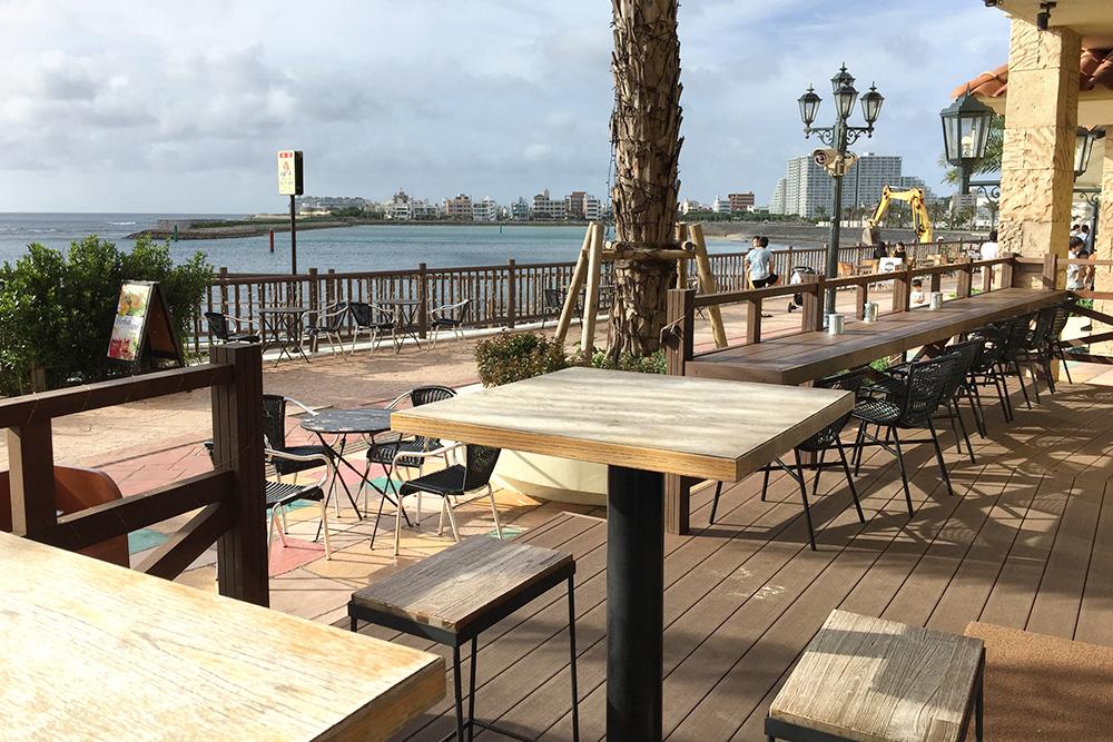 北谷町の電源カフェ CLIMAX COFFEEデポアイランド店