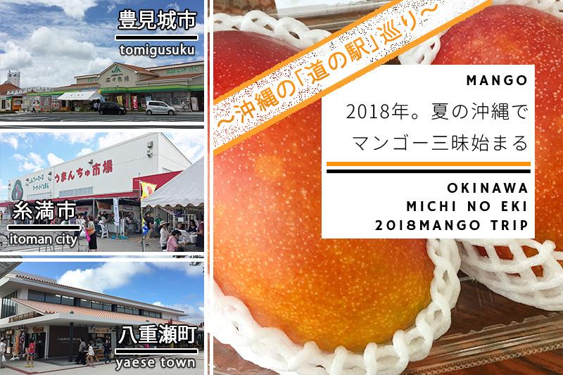 2018年、夏の沖縄でマンゴー三昧始まる!沖縄本島南部の「道の駅」を巡るマンゴーの旅