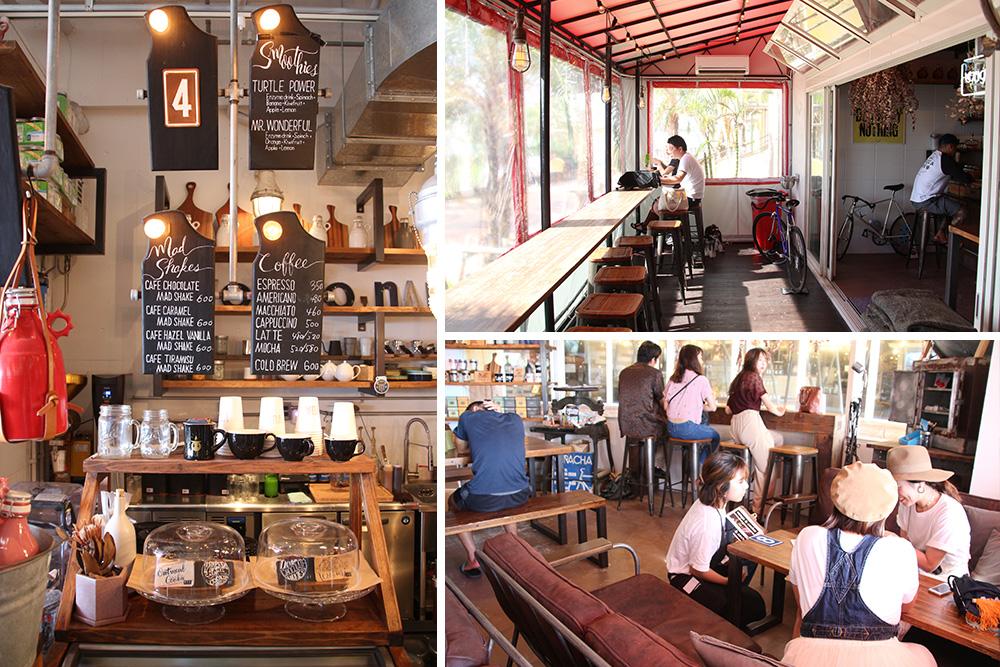 北谷町の電源カフェ BONGO & ANCHER